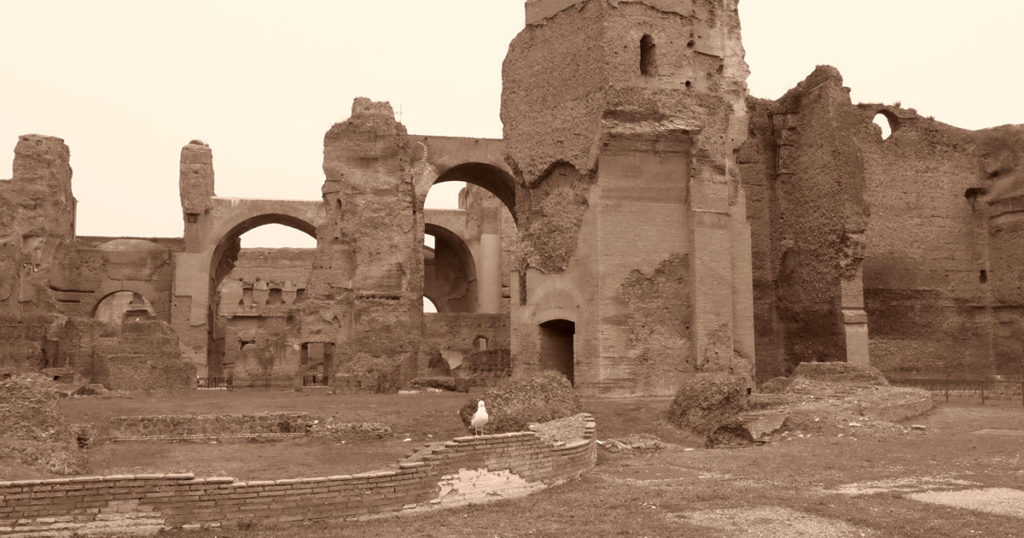 rome thermes de caracalla
