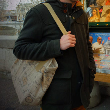 Suite des aventures du sac cabas à Rome