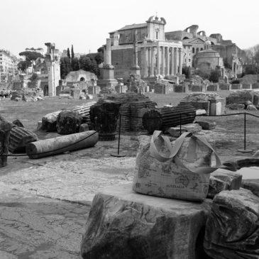 Une semaine à Rome avec le sac cabas, dans le centre antique