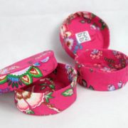 boites-rondes-tissu-otziotzi-rose-fleurs