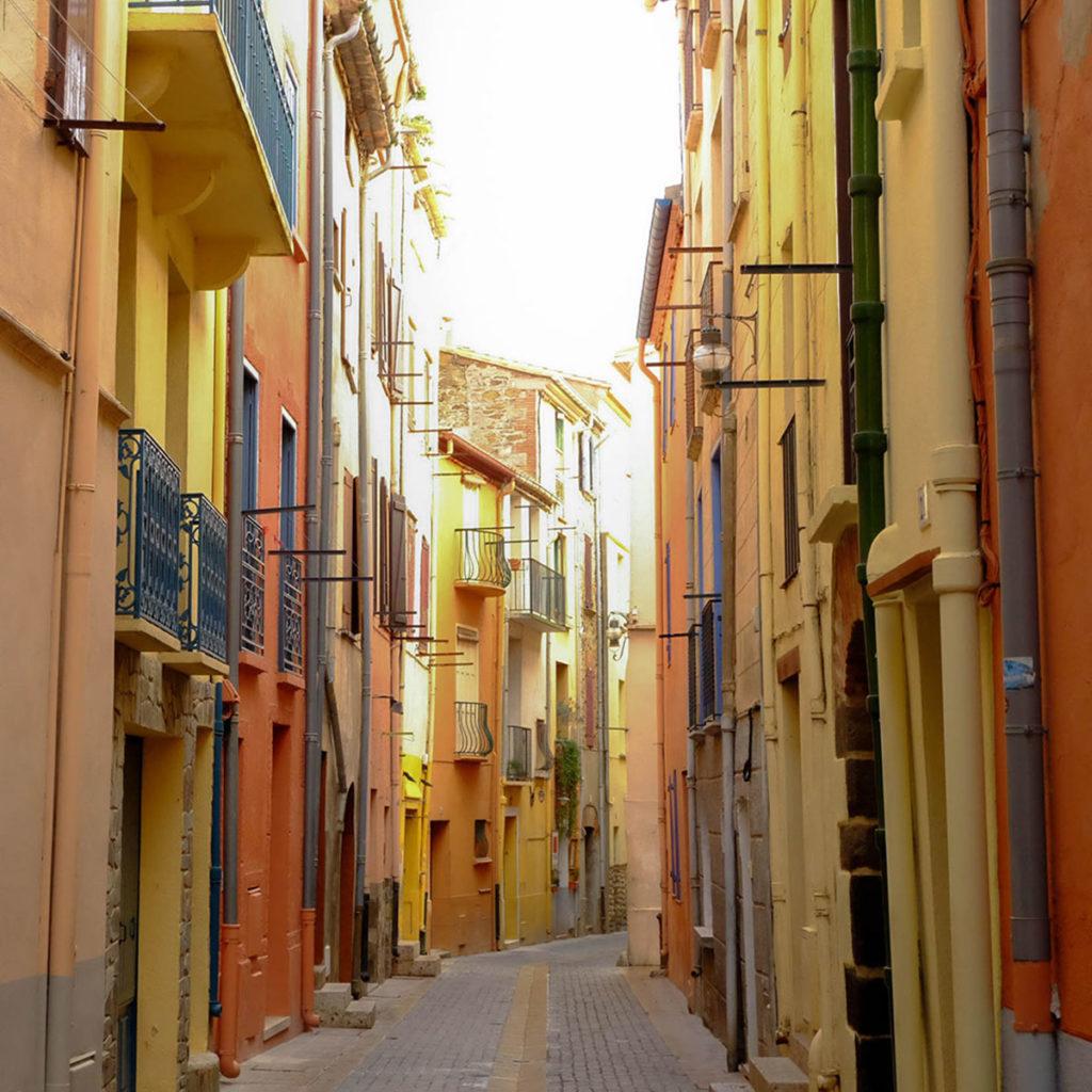collioure rue