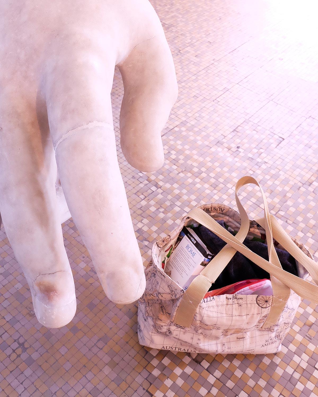 otziotzi-artisanat-textile-sac-cabas-made in france dans la Centrale Montemartini